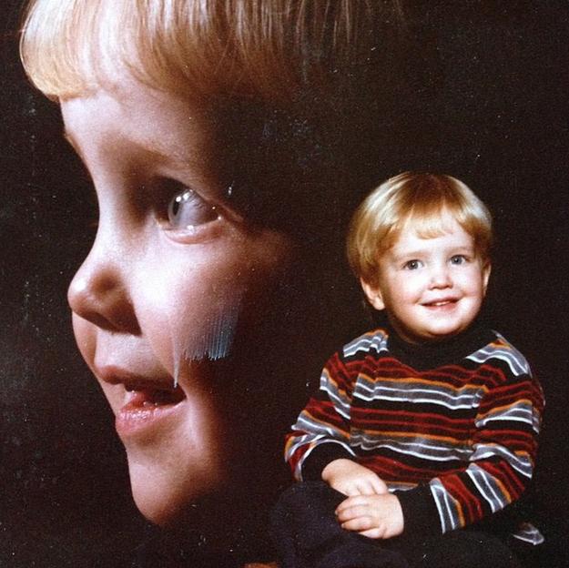 Аарон Пол в детстве